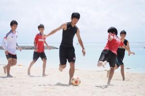 サッカー 中3